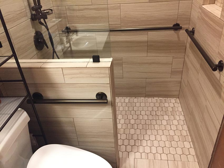 A-Plus Air Conditioning & Home Solutions - ADA Compliant, Aging-In-Place Bathroom Design