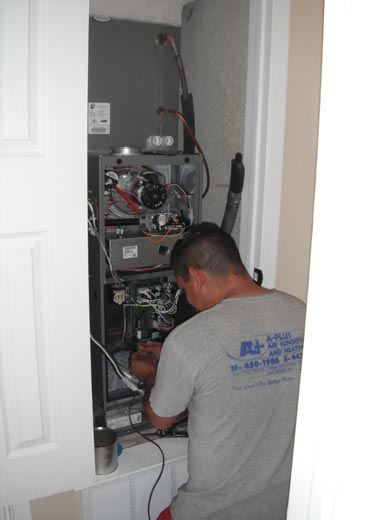 A-Plus Air Conditioning & Home Solutions - Furnace Installation Professional