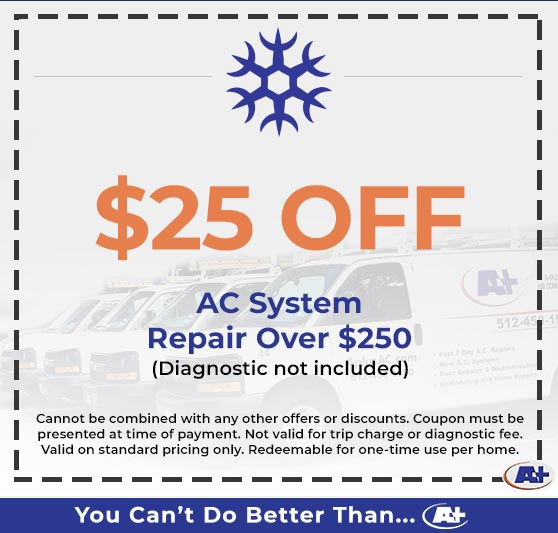 A-Plus Air Conditioning & Home Solutions - Discounts on AC System Repair